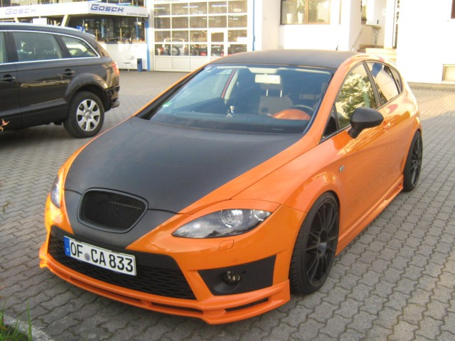 seat leon fr komplett lackierung tuning projekt seat. Black Bedroom Furniture Sets. Home Design Ideas